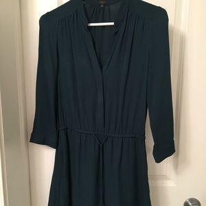 Babaton Silk Shirt Dress